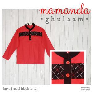 Foto Produk Koko Remaja/Dewasa Red&Black Tartan by Mamanda dari kedai berkah