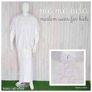 Foto Produk Koko Dewasa All White by Mamanda dari kedai berkah