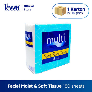 Foto Produk Kemasan Karton - Tissue Multi Toilet Tissue 8 roll - isi 16 pack dari Tissue Tessa