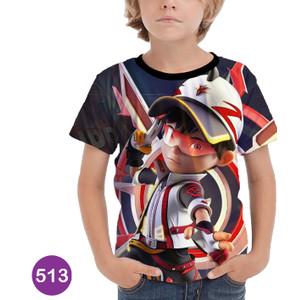 Foto Produk Kaos Boboiboy 3D Anak Murah Meriah #513 - No.0 (0-1 thn) dari BDG Grosir Kaos