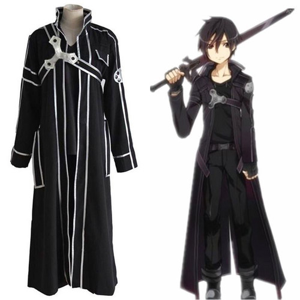 Foto Produk Sword Art Online SAO Kirito Kirigaya Kazuto Complete Costume dari Pixiza