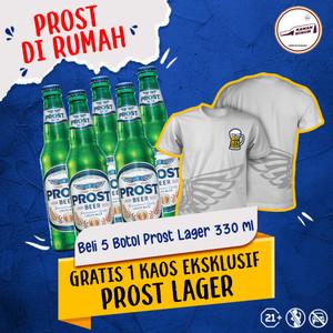 Foto Produk Beli 5 Prost Lager Pint FREE T-Shirt dari kawan minum