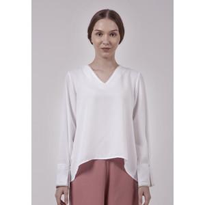Foto Produk The Executive Loose Blouse 5-BLWFEM120C008 Off White - Off White, S dari The Executive Indonesia