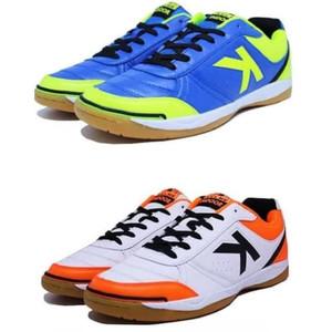 Foto Produk Sepatu Futsal Kelme K-Strong Royal Blue - White Orange dari ndlogokmarket