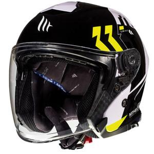 Foto Produk MT Helmets THUNDER 3 SV JET VENUS A3 GLOSS PEARL FLUOR YELLOW dari RC Motogarage