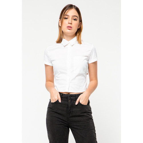 Foto Produk Colorbox Shirt with Back Detail I:BSWFCT221B001 OFF WHITE - OFF WHITE, XS dari Colorbox Indonesia