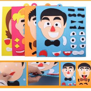 Jual Ekspresi Wajah Untuk Anak Tk Mainan Puzzle Stiker Handmade Diy Kab Bogor Global Shop Acc Tokopedia