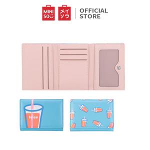 Foto Produk Miniso Dompet lipat tiga jus Juice Trifold Wallet - Random pick dari Miniso Indonesia