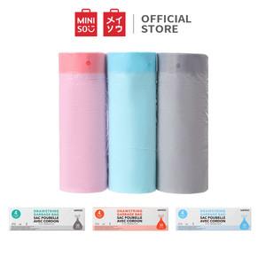 Foto Produk MINISO Kantong Plastik Sampah Kantong Sampah 4 Gallons 30pcs Trash Bag - 30pcs dari Miniso Indonesia