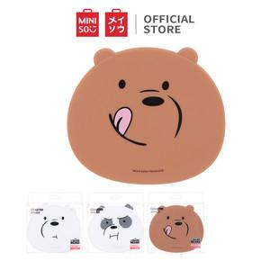 Foto Produk MINISO We Bare Bears Tatakan Alas Gelas Cangkir Cup Mug Meja 2 Pcs - 2 Pack dari Miniso Indonesia