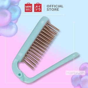 Foto Produk MINISO Sisir Rambut Sikat Wanita Hair Brush Lipat Portable Mini - Type 1 dari Miniso Indonesia
