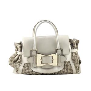 Foto Produk Gucci Queen Bow Tote Bag in Off White I10471C dari SECOND CHANCE