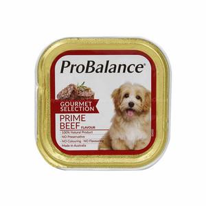 Foto Produk probalance 100 gr dog prime beef gourmet selection (wet) dari F.J. Pet Shop