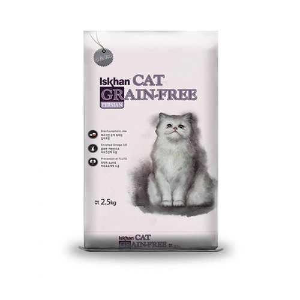 Foto Produk iskhan 300 gr cat persian grain free dari F.J. Pet Shop