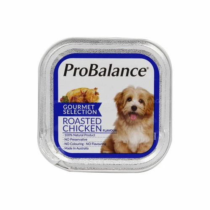 Foto Produk probalance 100 gr dog roasted chicken gourmet selection (wet) dari F.J. Pet Shop