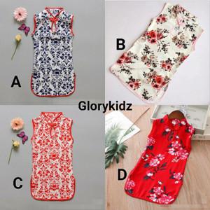 Foto Produk Glorykidz CH2101 Baju Cheongsam anak perempuan Dress China qipao imlek dari makmur jaya 555