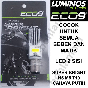 Foto Produk Lampu Motor LED LUMINOS PNP Vario 125 Techno FI RZ1 AC DC Bohlam dari Bohlam HID