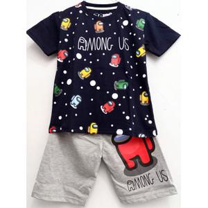 Foto Produk Setelan Anak Laki Laki Among Us Navy 1-10 Tahun - 2T dari SC Kaos Anak