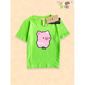 Foto Produk Kaos Baju Anak Kids chinese zodiac Pig Shio Babi dari meixian