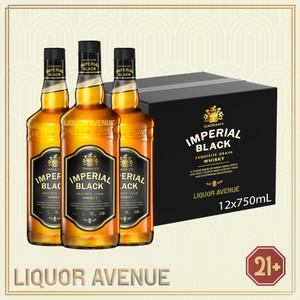 Foto Produk Seagrams Imperial Black Whisky 750ml - 1 karton isi 12 botol dari Liquor_Avenue
