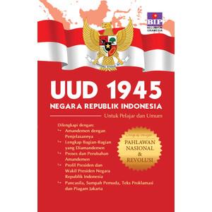 Foto Produk BIP - UUD 1945 Lengkap dengan Pahlawan Nasional & Revolusi dari Gramedia Official Store