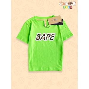 Foto Produk Kaos Baju Anak Kids BAPE Bathing ape army dari meixian