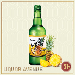 Foto Produk Baram Soju Pineapple / Nanas 360ml dari Liquor_Avenue