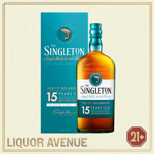 Foto Produk Singleton 15 Year Old DUFFTOWN Single Malt Scotch Whisky 700ml dari Liquor_Avenue