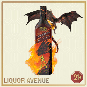 Foto Produk Johnnie Walker A Song of Fire Game of Thrones Scotch Whisky 1 Liter dari Liquor_Avenue