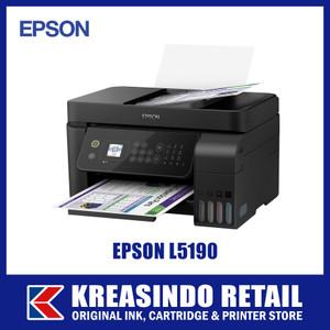 Foto Produk Epson L5190 All-in-One Printer + WiFi + ADF (Pengganti L565) dari Kreasindo Retail