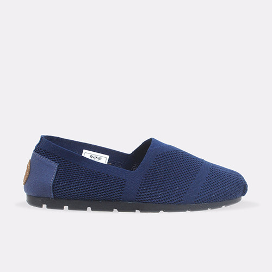 Foto Produk Sepatu Pria WAKAI - Slip On - KNIT - NAVY - 41 dari Wakai Official Store