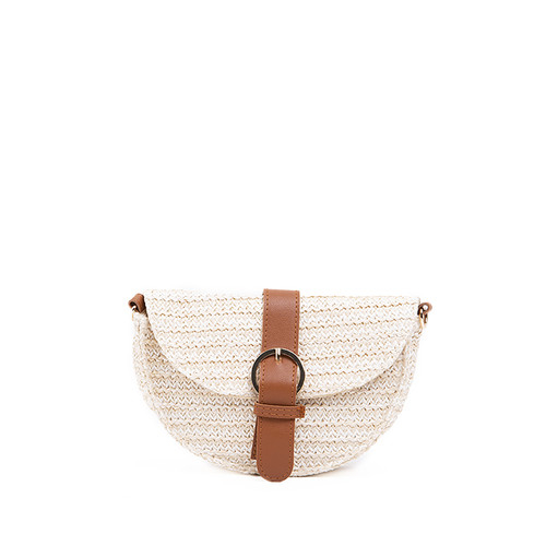 Foto Produk Colorbox Paper Straw Sling Bag I1Hbrasc120D002 Cream dari Colorbox Indonesia
