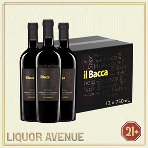 Foto Produk Luccarelli il Bacca Primitivo di Manduria 750ml -1 karton isi 12 botol dari Liquor_Avenue
