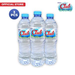 Foto Produk Club Air Mineral 600ml x 3 Pcs dari Indofood Beverages