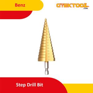 Foto Produk Benz Mata Bor Pagoda 15 Step Drill 4-32 mm dari Gtek Tool