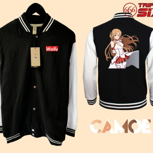 Foto Produk Jaket Varsity Premium Anime Asuna sword art online dari meixian