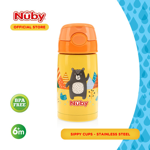 Foto Produk Nuby Bear Stainless Thermos dari Nuby Official Store