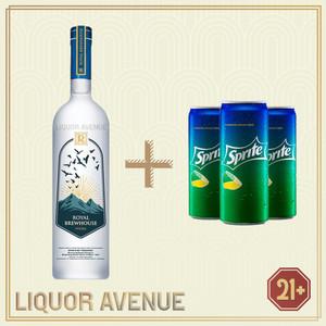 Foto Produk Royal Brewhouse Vodka 750ml + 3 Can Sprite dari Liquor_Avenue