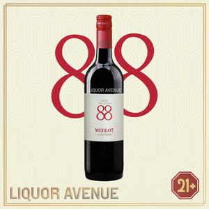 Foto Produk Two Eights 88 Merlot Classic Series Australian Wine 750ml dari Liquor_Avenue