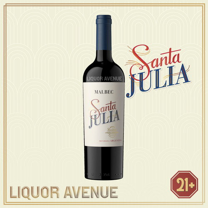 Foto Produk Santa Julia Malbec Mendoza Argentina Wine 750ml dari Liquor_Avenue