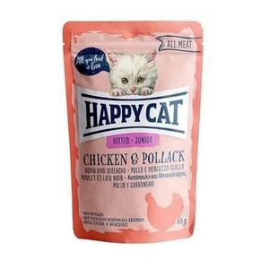 Foto Produk happy cat 85 gr kitten junior chicken pollack (wet) dari F.J. Pet Shop