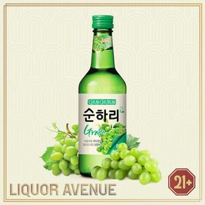 Foto Produk Lotte Chum Churum Grape Anggur Korea Soju Import 360ml dari Liquor_Avenue