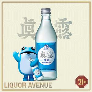 Foto Produk Jinro is Back Korea Soju Import 360ml dari Liquor_Avenue