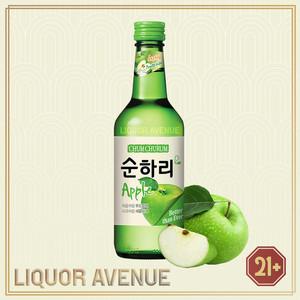 Foto Produk Lotte Chum Churum Apple Apel Korea Soju Import 360ml dari Liquor_Avenue