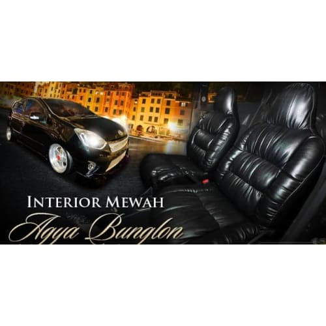 Foto Produk Sarung jok mobil agya ayla datsun brio motif sofa kulit sintetis dari firdayanti shop
