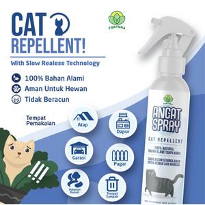 Foto Produk cairan pengusir anti kucing ANCAT SPRAY 250ml cat repellent dari Mutiara Sukses Abadi