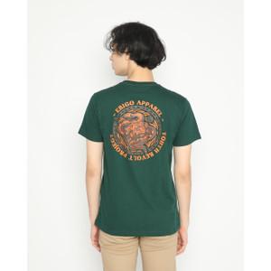 Foto Produk Kaos Pria Erigo T-Shirt Revolt Cotton Combed Green - S dari Erigo Official
