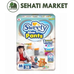 Foto Produk SWEETY FIT PANTS SILVER M 38 dari SEHATI MARKET