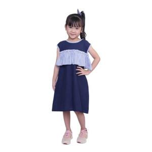 Foto Produk drees casual anak perempuan biru CJR - baju pesta kondangan cant dari ITA WIKASITA WIBAYANG