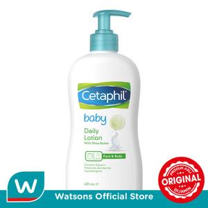 Foto Produk Cetaphil Baby Daily Lotion Shea Butter 400ml dari Watsons Indonesia